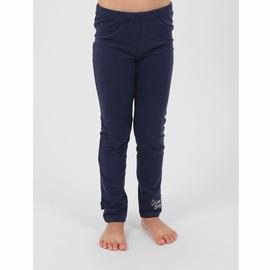 Legging en jersey coton élasthanne. Taille élastiquée.
