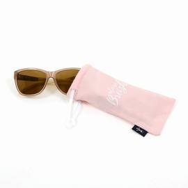 Etui à lunettes en jersey coton slubbé (lunettes non