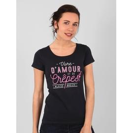 T-shirt manches courtes en jersey coton. Coupe large.