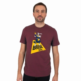 T-shirt manches courtes impression Ça m'les Brise Denise .