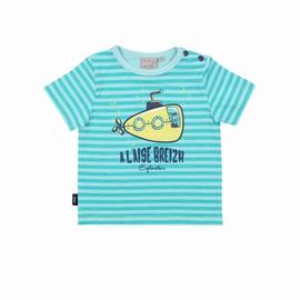 T-shirt manches courtes en jersey coton élasthanne.