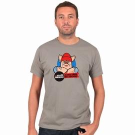 T-Shirt manches courtes A l'Aise Breizh impression Caractere