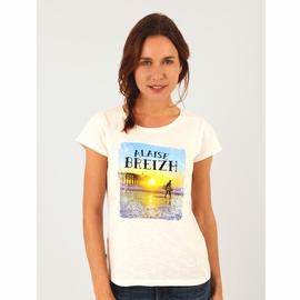 T-shirt manches courtes, coupe large, en jersey coton