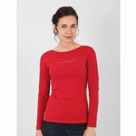 T-shirt manches longues en jersey coton suédé, touché peau