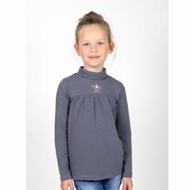 T-shirt col roulé,manches longues, en jersey coton