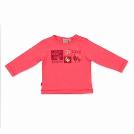 t-shirt manches longues en jersey slub élasthanne. Encolure
