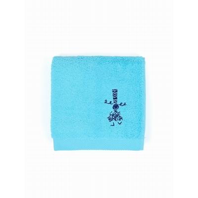 Le pack 3 pièces est composé d'une grande serviette rayée