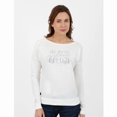 T-shirt manches chauve souris en jersey coton. Encolure