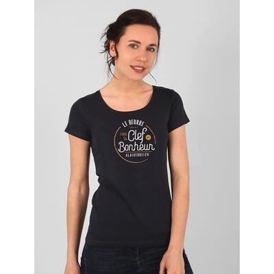 T-shirt manches courtes en jersey coton. Coupe ajustée.