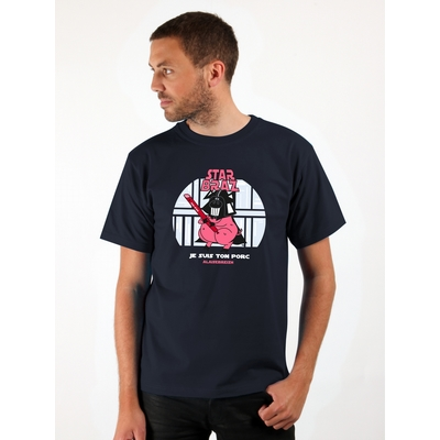T-Shirt manches courtes A l'Aise Breizh impression Star Braz