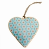 Suspension Coeur 10 Cm Sensitive et Fils