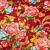 Tissu Chinois Pivoine Fleurs Sensitive et Fils