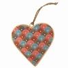 Suspension Coeur 10 Cm Sensitive et Fils
