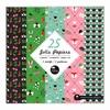 Set 25 Jolis Papiers 15x15 Sensitive et Fils