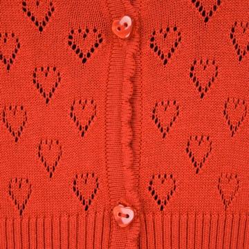 Cardigan Coton Ajoure Sensitive et Fils