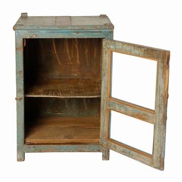 Chevet indien teck ancien parme l42cm mobilier indien - Petit meuble teck ...