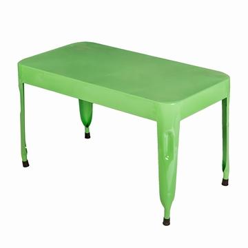 Mobilier indien en teck meubles indiens anciens - Table basse coloree ...