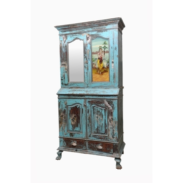 Armoire Indienne En 2 Parties Sensitive et Fils