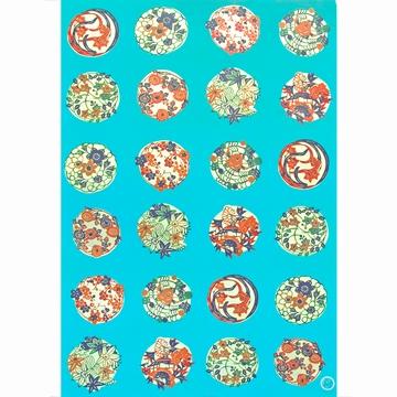 Set 5 Papiers Creatifs Fleurs Sensitive et Fils