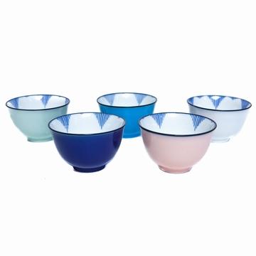 Set 5 Tasses Pastel Sensitive et Fils