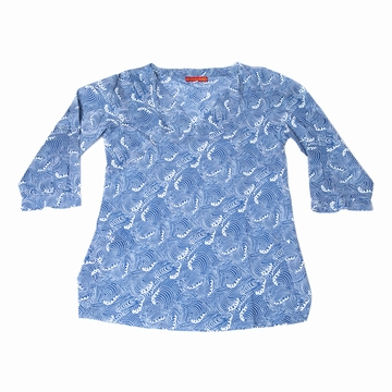 Blouse Turtle Estampe Sensitive et Fils