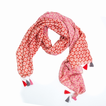 Foulard Pareo Coton Star Sensitive et Fils