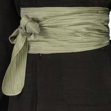 Ceinture traditionnelle japonaise en soie à nouer à la
