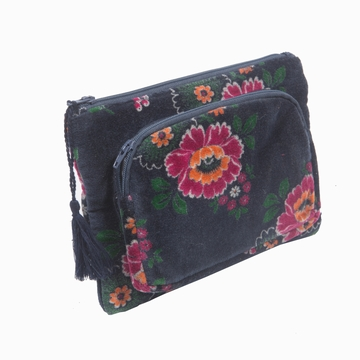 Trousse Velours Zip Sensitive et Fils