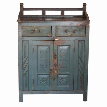 meuble indien teck bleu sensitive et fils