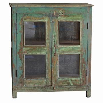 petit meuble indien vert sensitive et fils