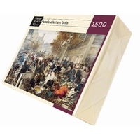 Wooden jigsaw puzzle of artwork - 1500 pieces - This large