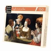<b>Puzzle d'art en bois de 150 pièces, découpé à la main en