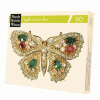 BROCHE PAPILLON HC - ART NOUVEAU
