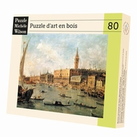 Wooden jigsaw puzzle of artwork - 80 pieces - Born in 1712,