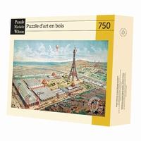 <b>Puzzle d'art en bois de 750 pièces, découpé à la main en