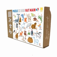 Michèle Wilson jigsaw puzzles are playful, educational, and