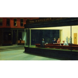 EDWARD HOPPER - NIGHTAWKS