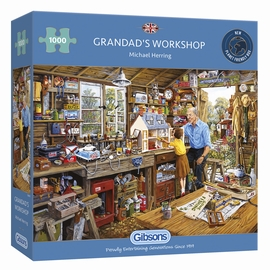 GRANDAD'S WORKSHOP