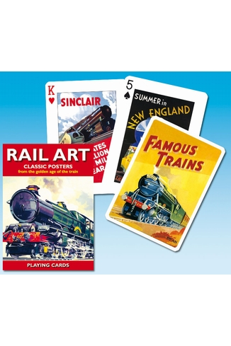 RAIL ART - 55 CARTES