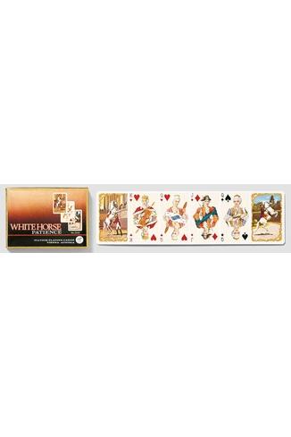 WHITE HORSE - 2 X 55 CARTES