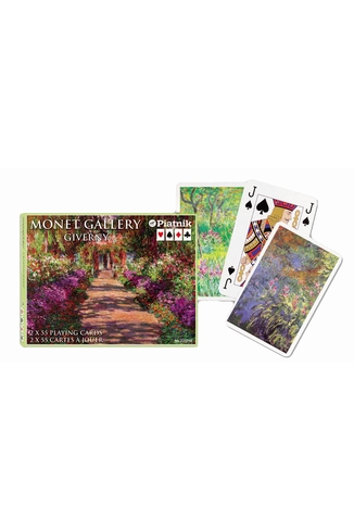 MONET GIVERNY - COFFRET 2X55 CARTES