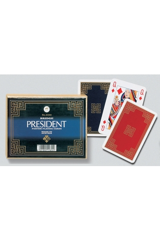 PRESIDENT - 2X55 CARTES