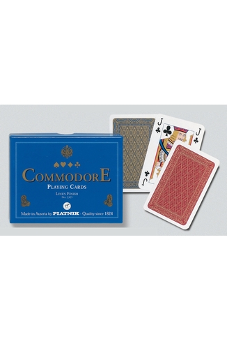 COMMODORE BLUE (RED/BL) - 2X55 CARTES