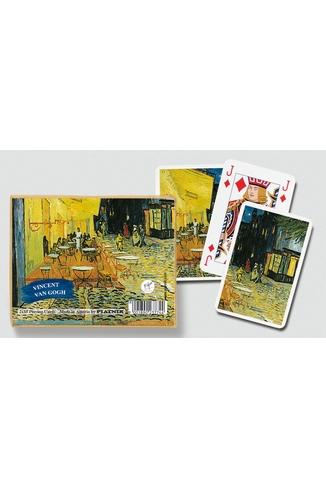 VAN GOGH CAFE LE SOIR - 2X55 CARTES