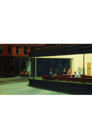 EDWARD HOPPER - NIGHTAWKS - 1000 PIECES