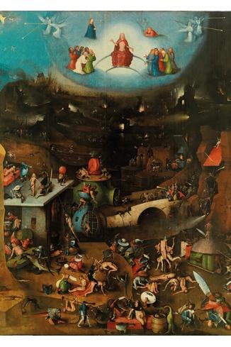 BOSCH - LE JUGEMENT DERNIER - 1000 PIECES