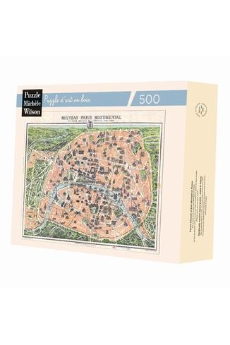 PLAN DE PARIS MONUMENTAL - CARTE
