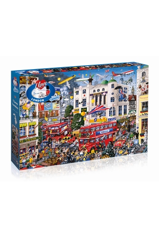 I LOVE LONDON - 1000 PIECES
