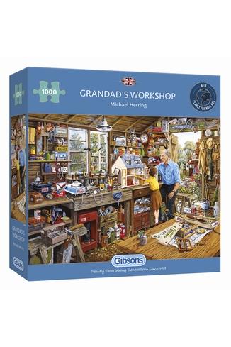GRANDAD'S WORKSHOP - 1000 PIECES