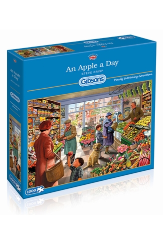AN APPLE A DAY - 1000 PIECES